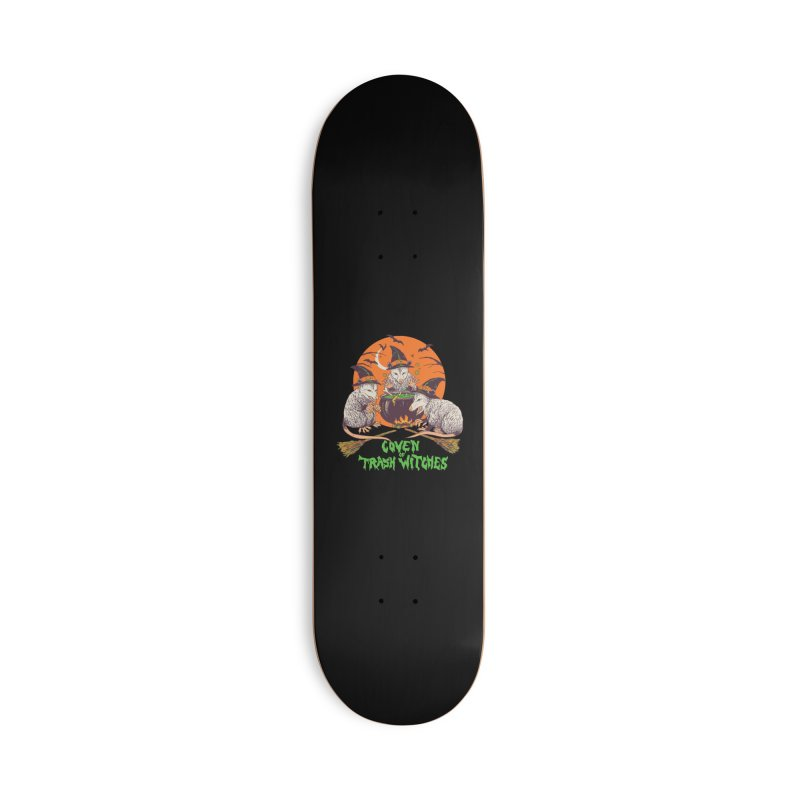 Coven Of Trash Witches Accessories Deck Only Skateboard by Hillary White