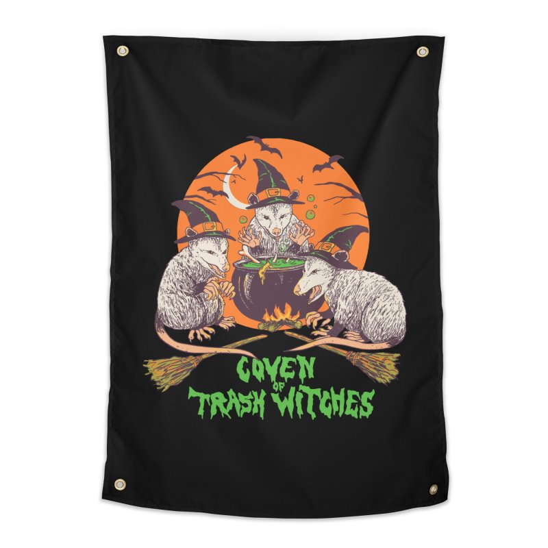 Coven Of Trash Witches Home Tapestry by Hillary White