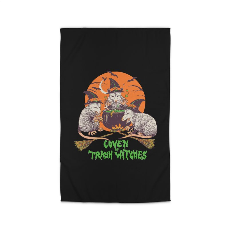 Coven Of Trash Witches Home Rug by Hillary White