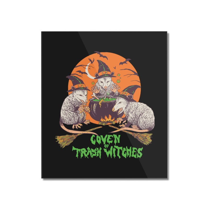 Coven Of Trash Witches Home Mounted Acrylic Print by Hillary White