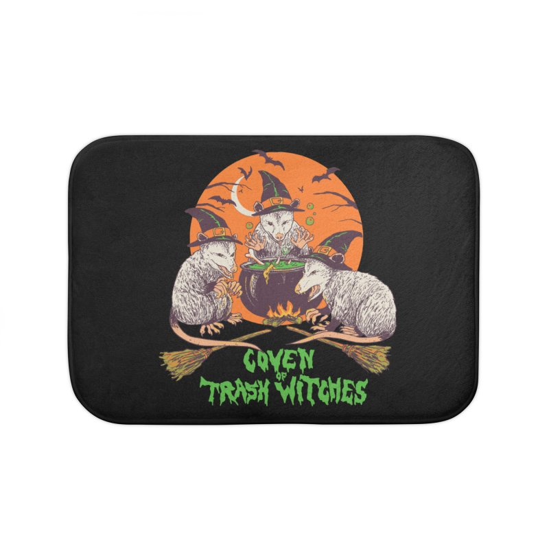 Coven Of Trash Witches Home Bath Mat by Hillary White