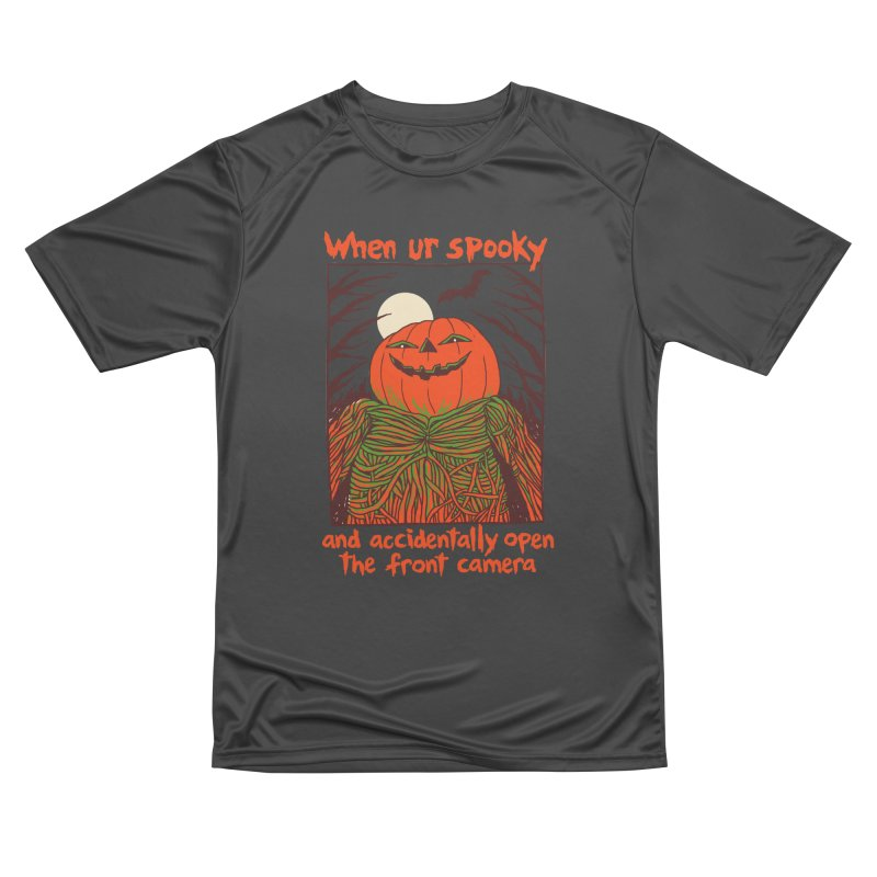 Spooky Selfie Men's Performance T-Shirt by Hillary White