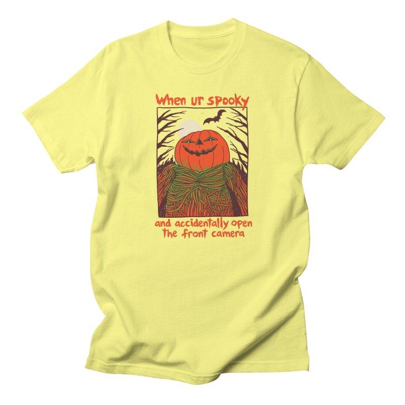 Spooky Selfie Women's Regular Unisex T-Shirt by Hillary White