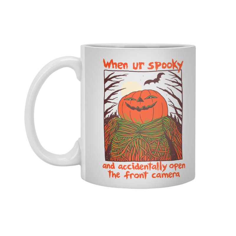 Spooky Selfie Accessories Standard Mug by Hillary White
