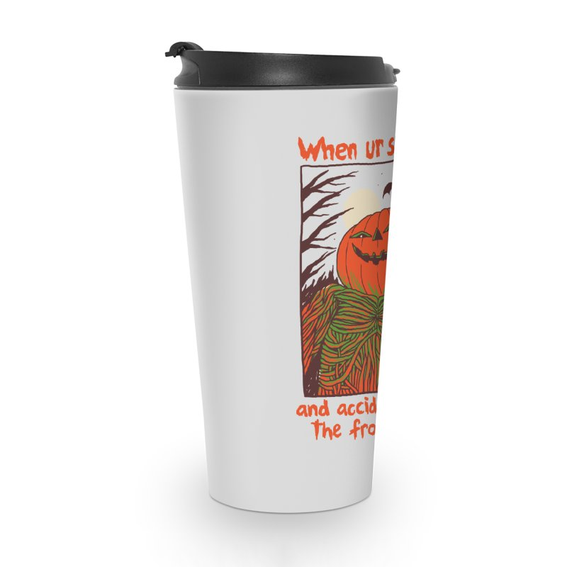 Spooky Selfie Accessories Travel Mug by Hillary White