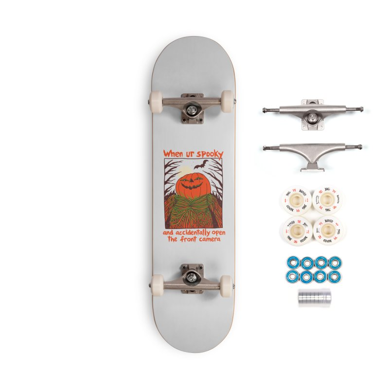 Spooky Selfie Accessories Complete - Premium Skateboard by Hillary White