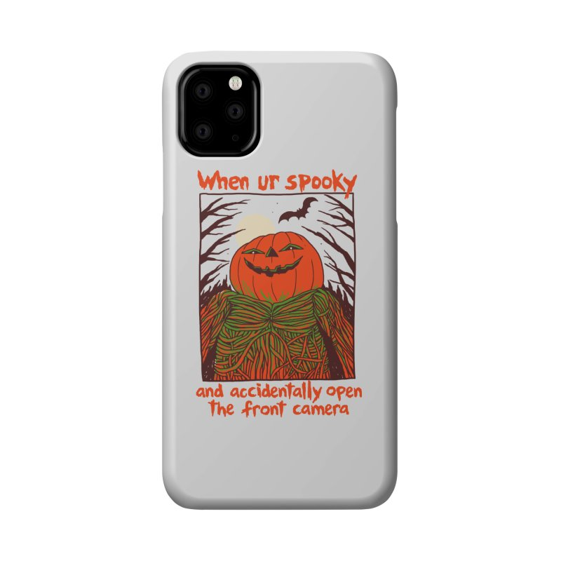 Spooky Selfie Accessories Phone Case by Hillary White