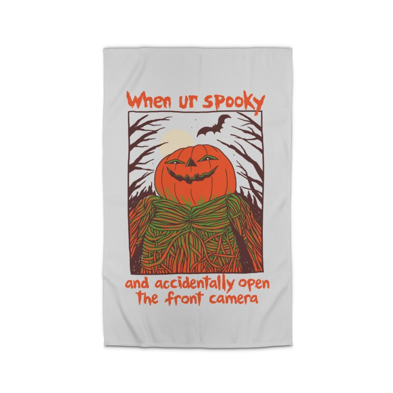 Spooky Selfie Home Rug by Hillary White