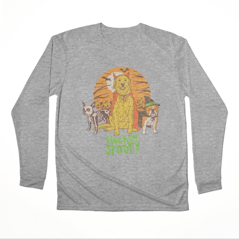 Heckin' Spoopy Men's Performance Longsleeve T-Shirt by Hillary White
