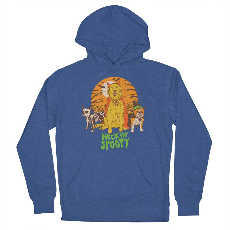 Heckin' Spoopy Men's French Terry Pullover Hoody by Hillary White