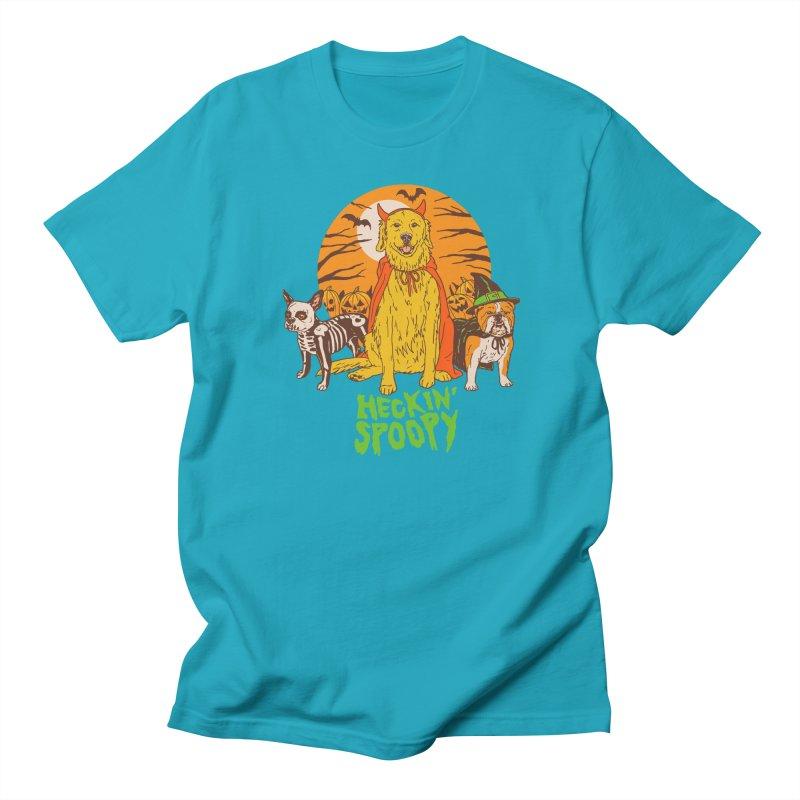 Heckin' Spoopy Men's Regular T-Shirt by Hillary White