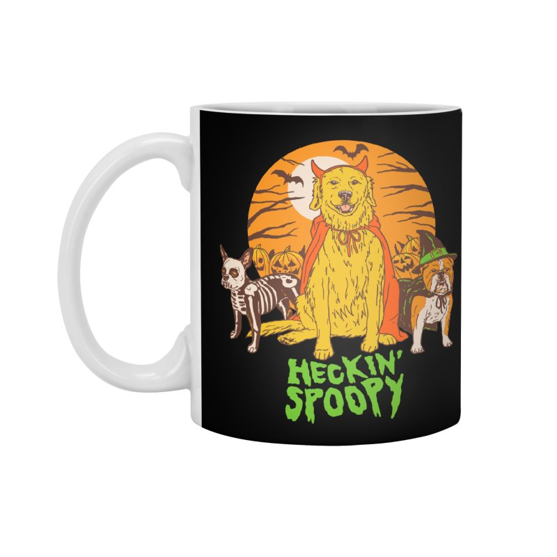 Heckin' Spoopy Accessories Standard Mug by Hillary White