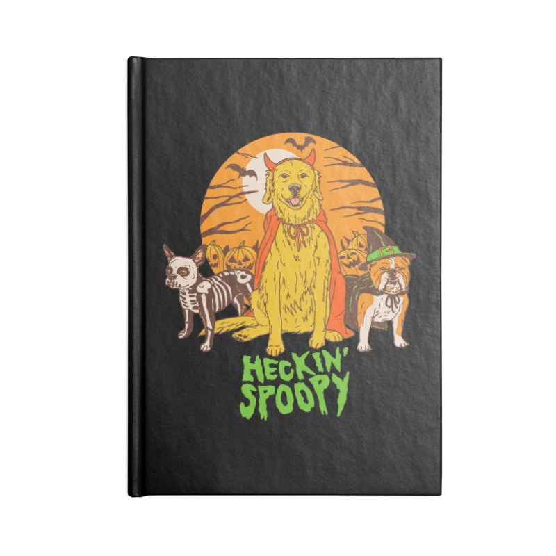 Heckin' Spoopy Accessories Lined Journal Notebook by Hillary White