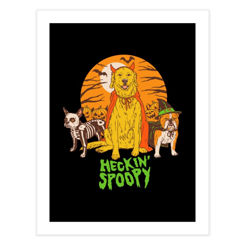 Heckin' Spoopy Home Fine Art Print by Hillary White
