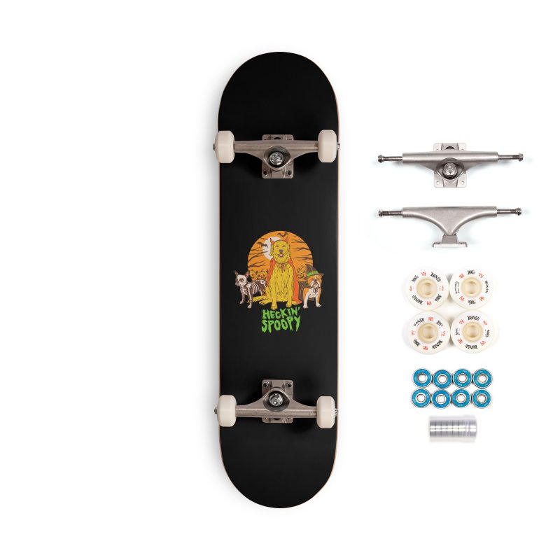 Heckin' Spoopy Accessories Complete - Premium Skateboard by Hillary White