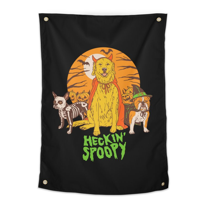 Heckin' Spoopy Home Tapestry by Hillary White