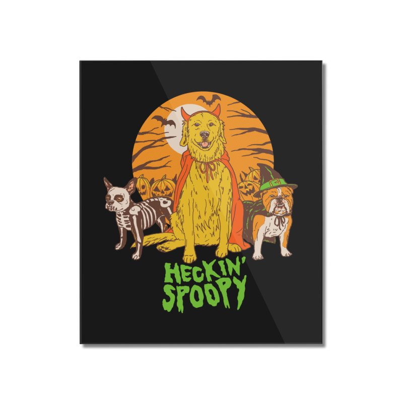 Heckin' Spoopy Home Mounted Acrylic Print by Hillary White