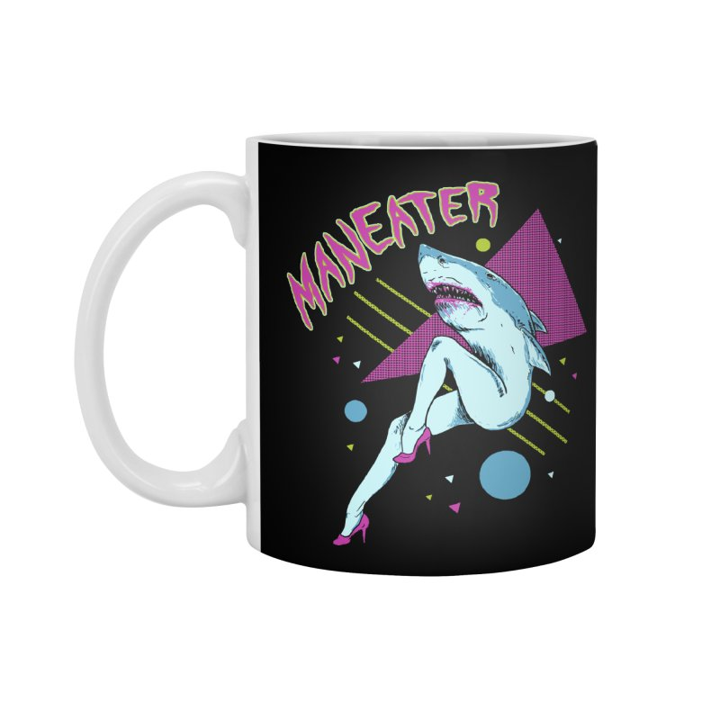 Maneater Accessories Standard Mug by Hillary White