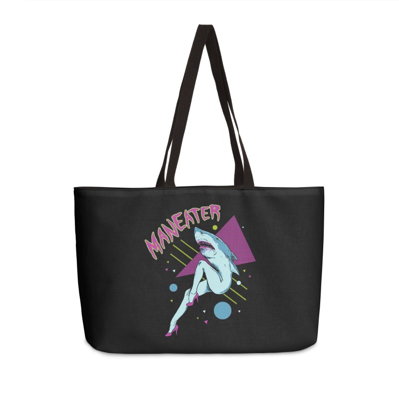 Maneater Accessories Weekender Bag Bag by Hillary White