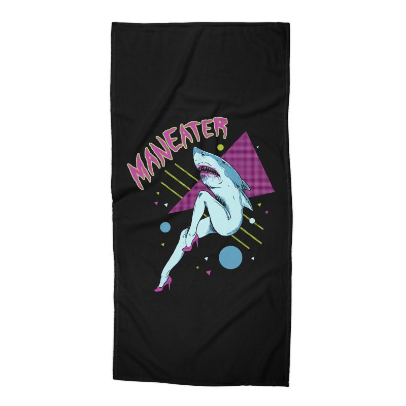 Maneater Accessories Beach Towel by Hillary White