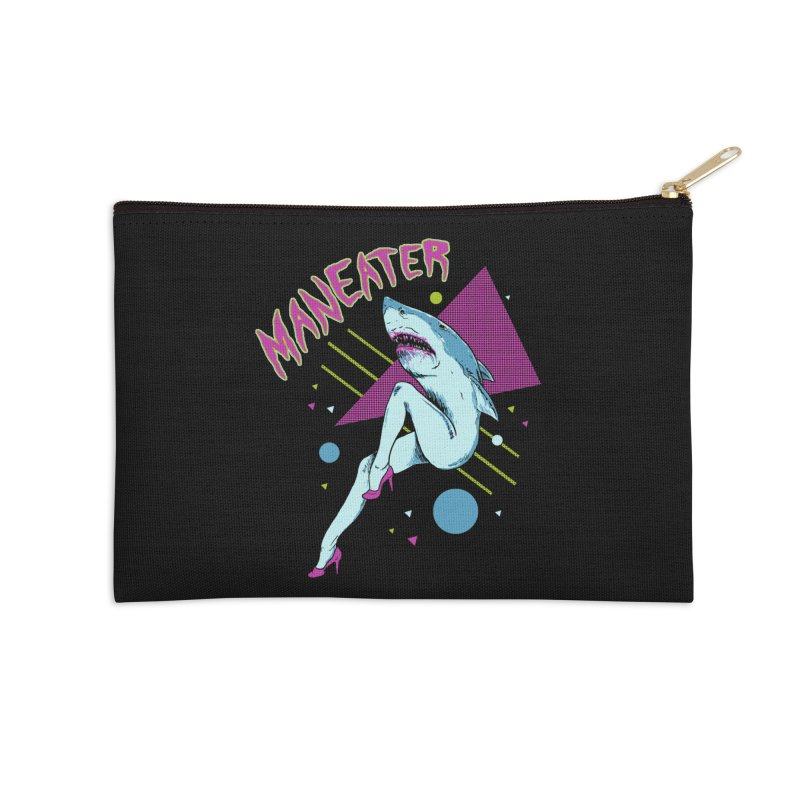 Maneater Accessories Zip Pouch by Hillary White