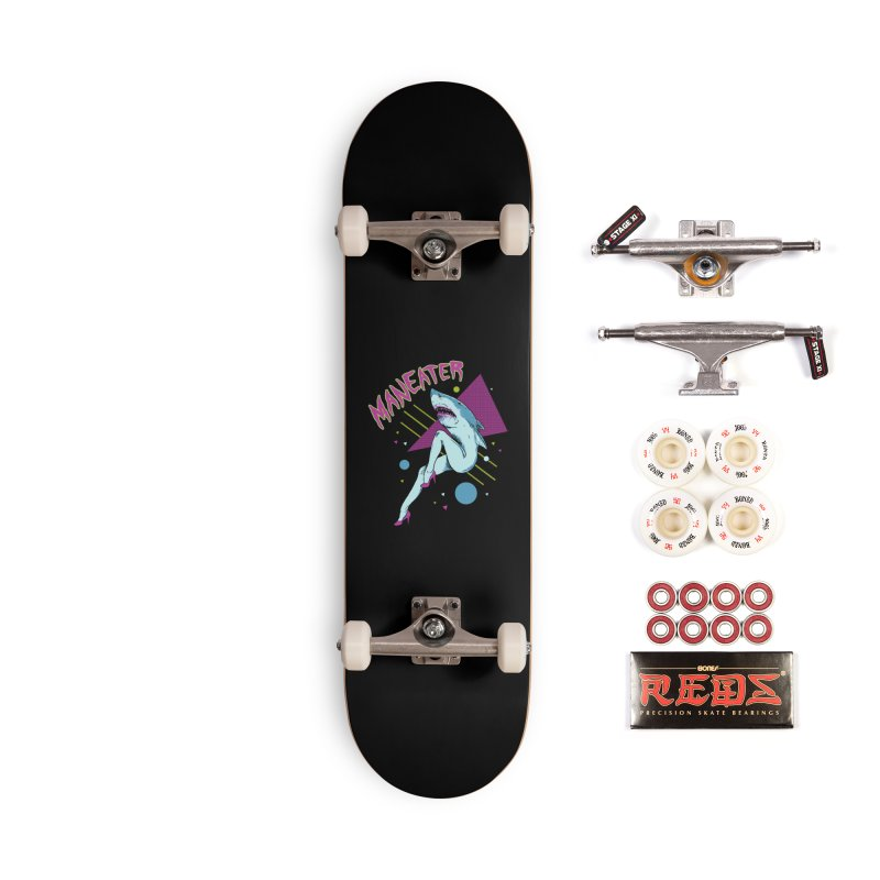 Maneater Accessories Complete - Pro Skateboard by Hillary White