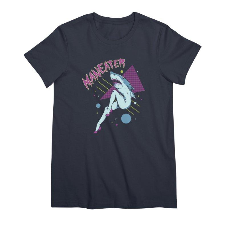 Maneater Women's Premium T-Shirt by Hillary White