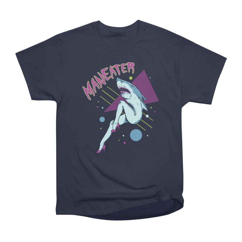 Maneater Men's Heavyweight T-Shirt by Hillary White