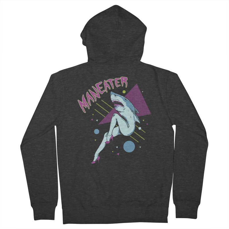 Maneater Women's French Terry Zip-Up Hoody by Hillary White