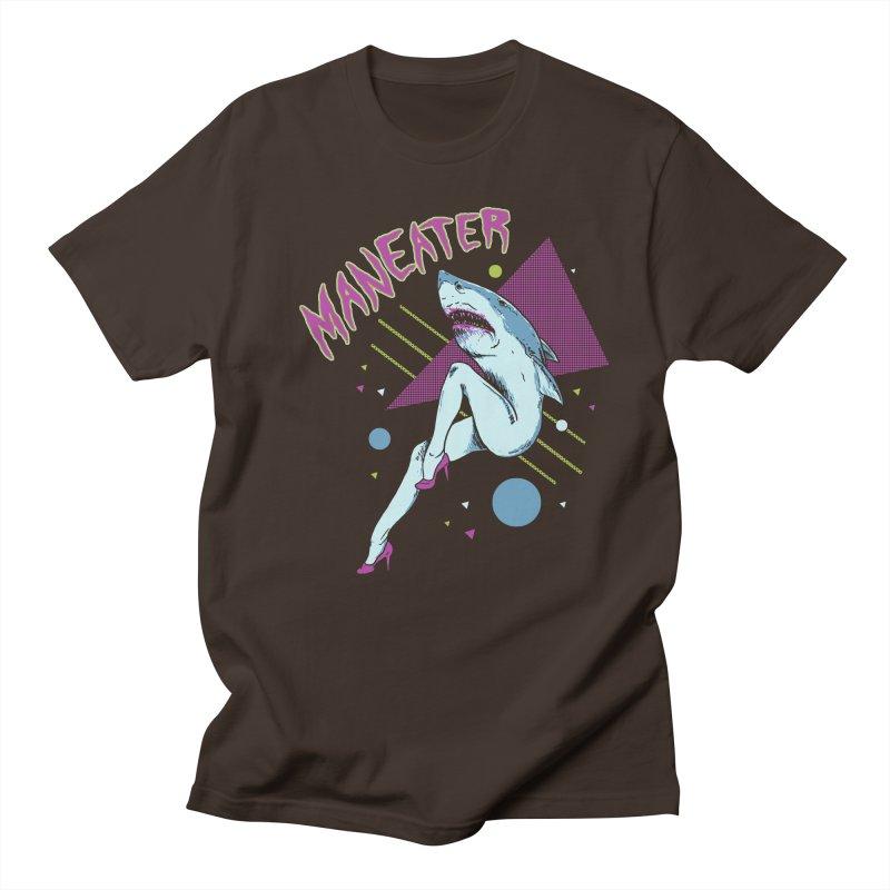 Maneater Men's Regular T-Shirt by Hillary White