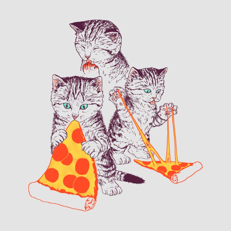 Pizza Kittens Women's Pullover Hoody by Hillary White