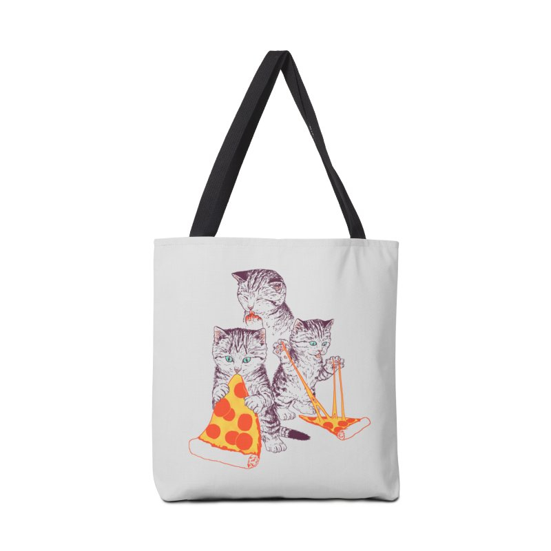 Pizza Kittens Accessories Tote Bag Bag by Hillary White