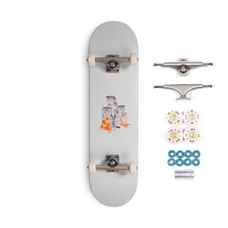 Pizza Kittens Accessories Complete - Premium Skateboard by Hillary White