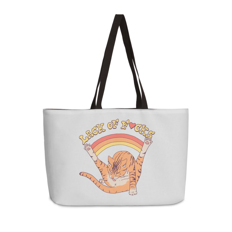 Lack Of F*cks Accessories Weekender Bag Bag by Hillary White