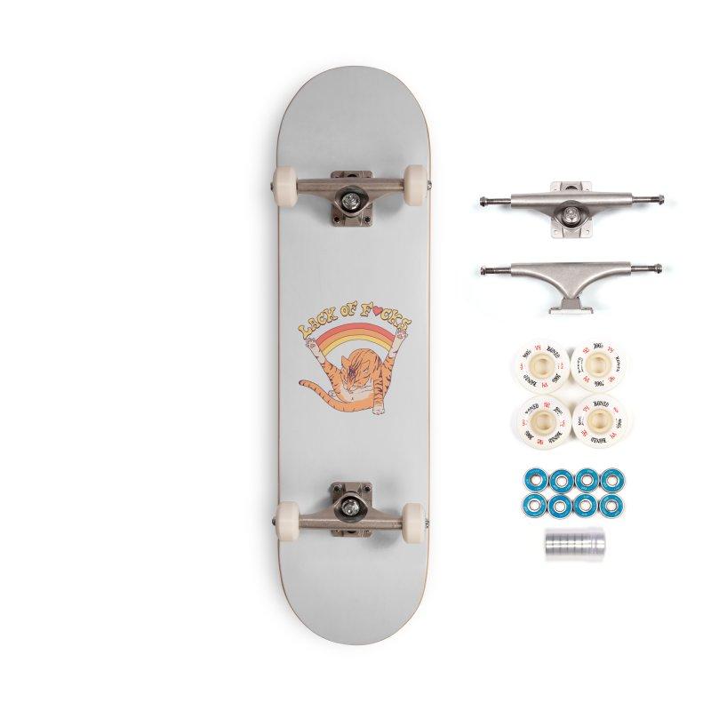 Lack Of F*cks Accessories Complete - Premium Skateboard by Hillary White