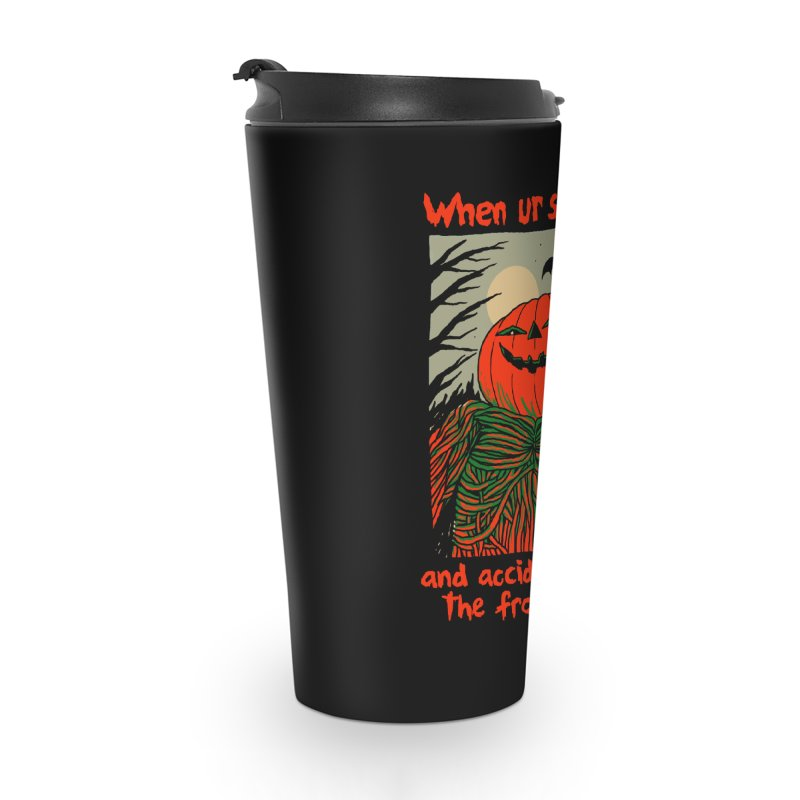 Spooky Selfie - dark shirt variant Accessories Travel Mug by Hillary White