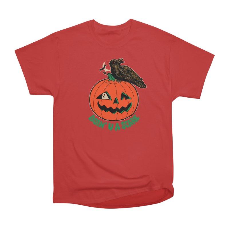 Doin' U A Scare Men's Heavyweight T-Shirt by Hillary White