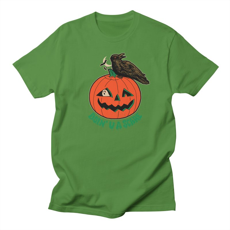 Doin' U A Scare Men's Regular T-Shirt by Hillary White