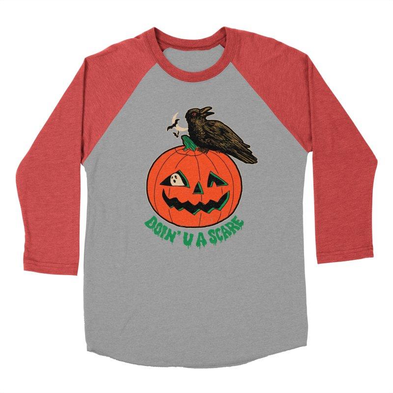 Doin' U A Scare Women's Baseball Triblend Longsleeve T-Shirt by Hillary White