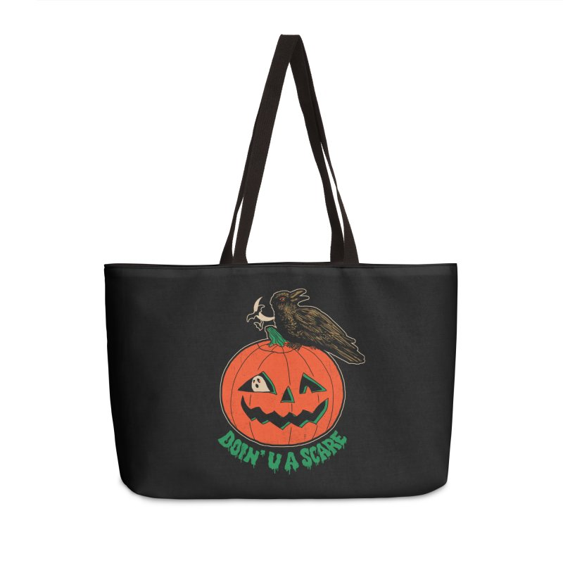 Doin' U A Scare Accessories Weekender Bag Bag by Hillary White