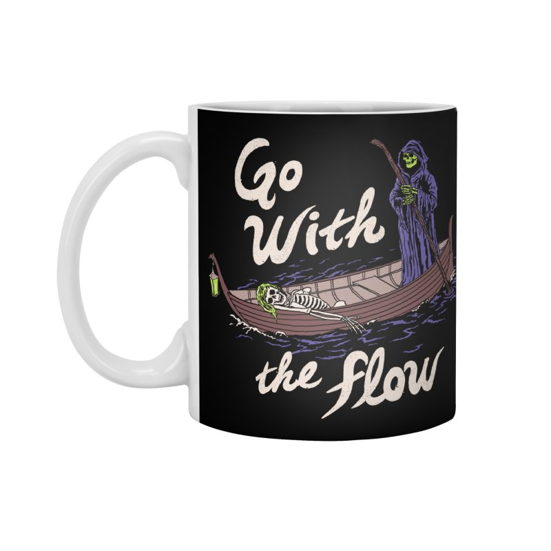 Go With The Flow Accessories Standard Mug by Hillary White