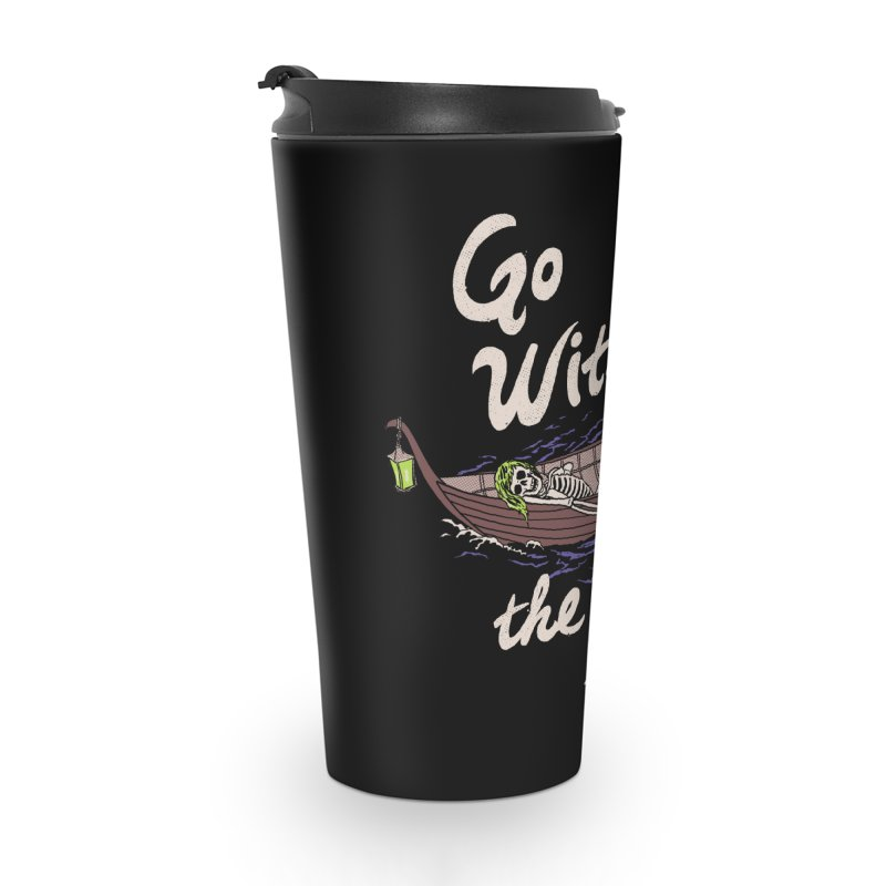 Go With The Flow Accessories Travel Mug by Hillary White