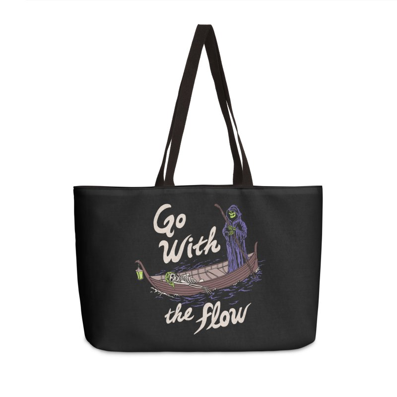 Go With The Flow Accessories Weekender Bag Bag by Hillary White