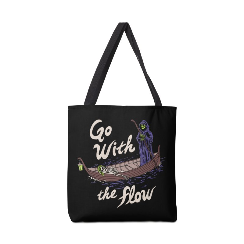 Go With The Flow Accessories Tote Bag Bag by Hillary White