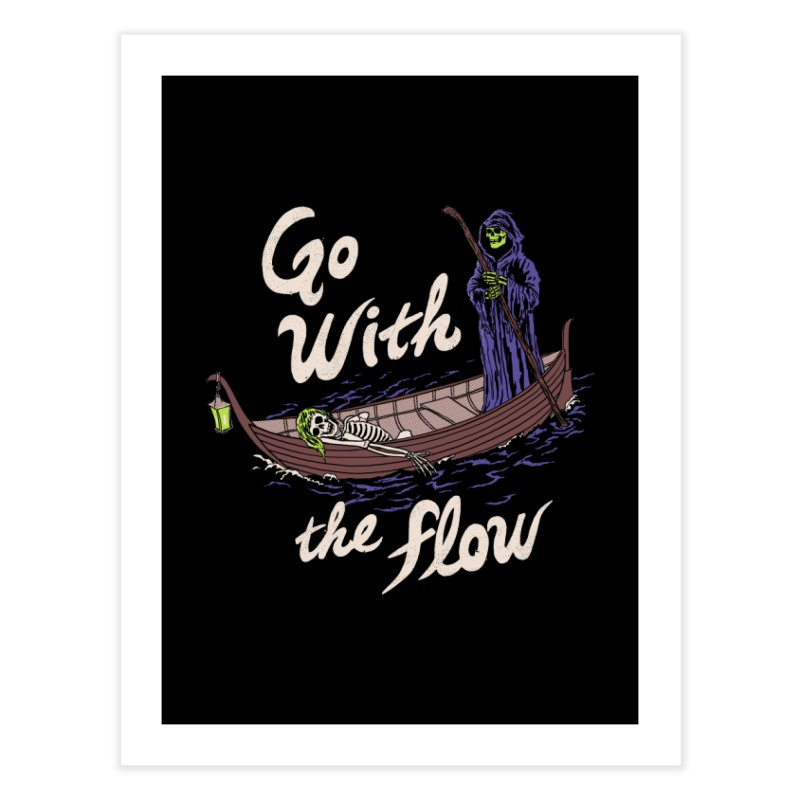 Go With The Flow Home Fine Art Print by Hillary White
