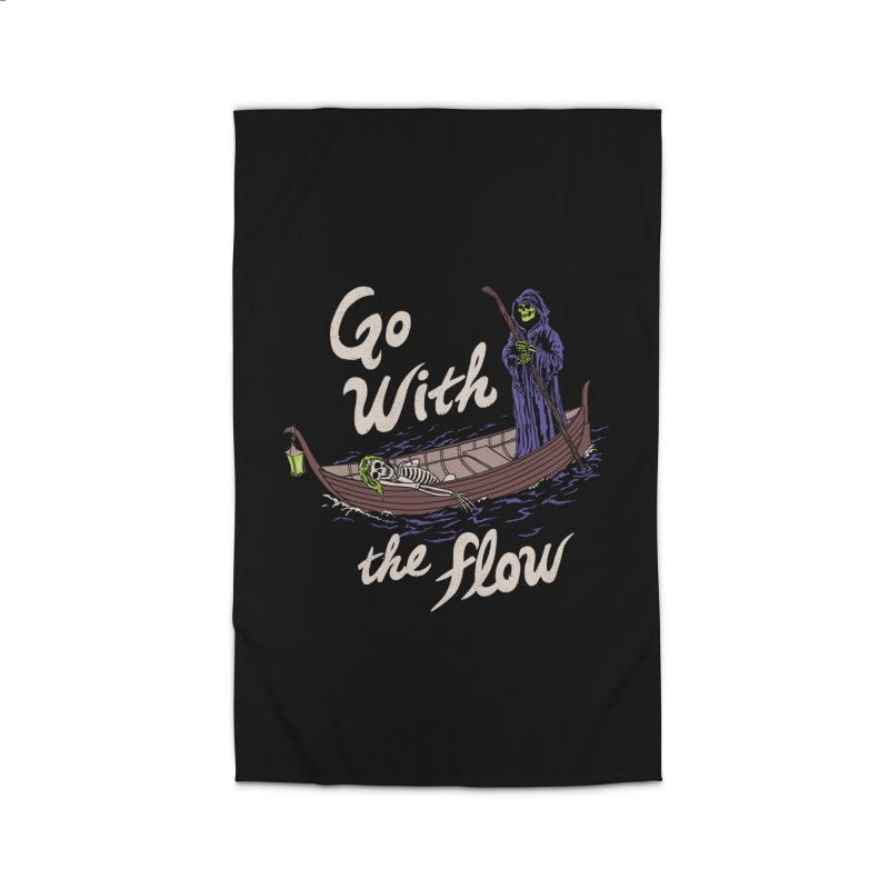 Go With The Flow Home Rug by Hillary White