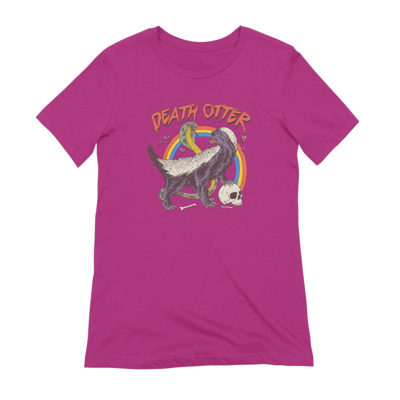 Death Otter Women's Extra Soft T-Shirt by Hillary White