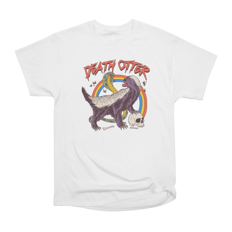 Death Otter Men's Heavyweight T-Shirt by Hillary White