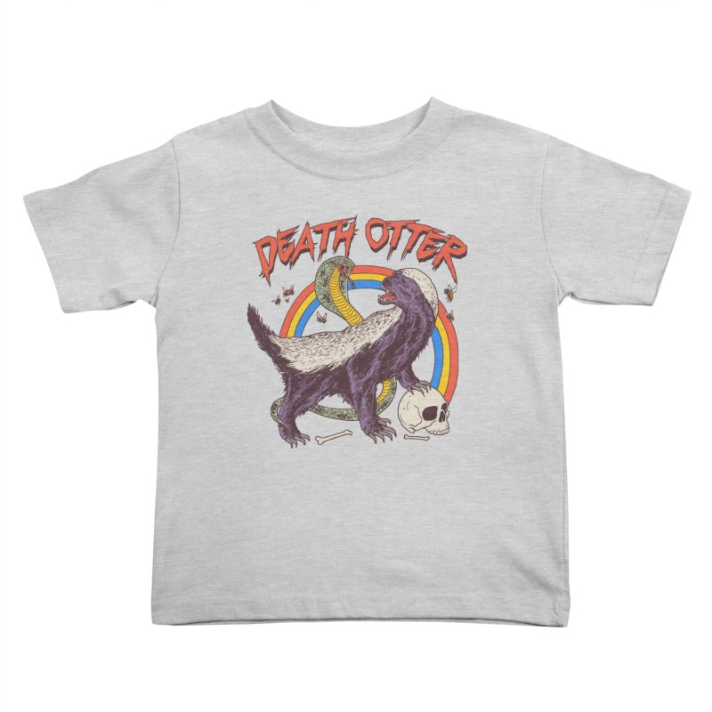 Death Otter Kids Toddler T-Shirt by Hillary White