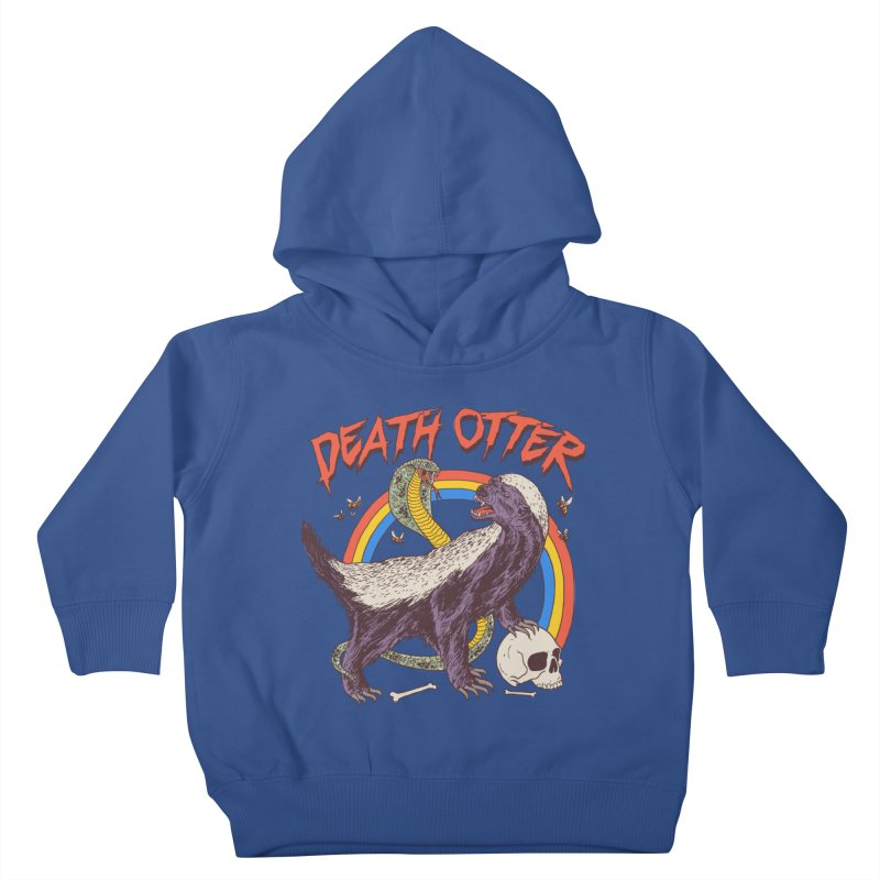 Death Otter Kids Toddler Pullover Hoody by Hillary White